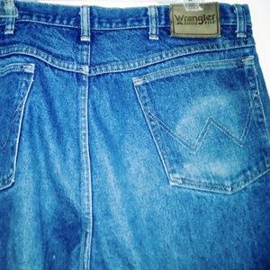Wrangler Rugged Wear Relaxed Fit Jean Sz 38 x 30